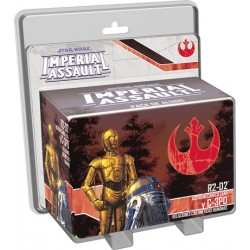 Star Wars: Imperial Assault - R2D2 y C3PO Pack de Aliado