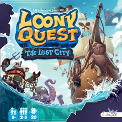 Loony Quest Exp: The Lost City