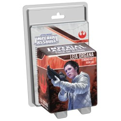 Star Wars Imperial Assault: Princesa Leia, Comandante rebelde