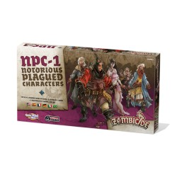 Zombicide: Black Plague - Notorious Plagued Characters 1