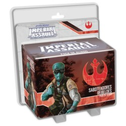 Star Wars: Imperial Assault - Saboteadores rebeldes Pack de Aliado