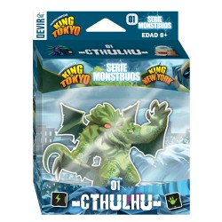KING OF TOKYO (Serie monstruos 01) CTHULHU