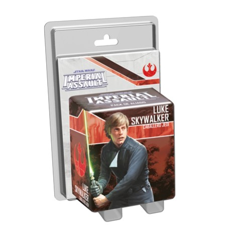 Star Wars Imperial Assault: Luke Skywalker, Caballero jedi