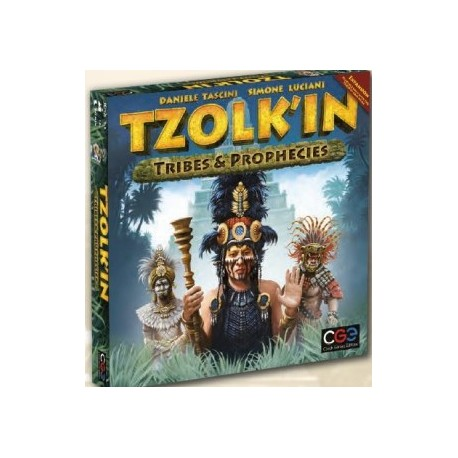 Tzolk'in: The Mayan Calendar - Tribes & Prophecies (Inglés)