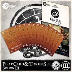Guild Ball: Season 3 Plot Card Deck (Inglés)