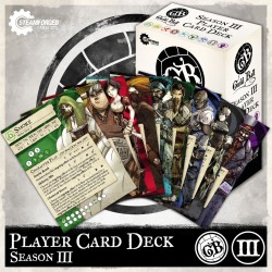 Guild Ball: Season 3 Player Card Deck (Inglés)