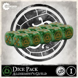 Guild Ball: Alchemist Dice x10 (Inglés)