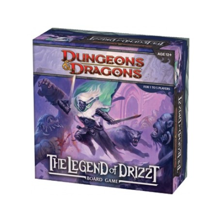 D&D - The Legend of Drizzt (Ingles)