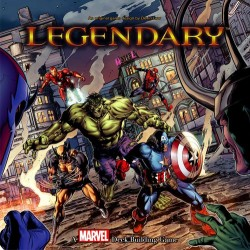 Legendary: A Marvel Deck Building Game (Ingles)