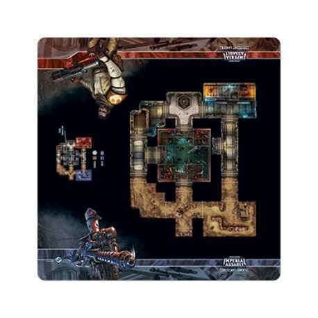 Star Wars: Imperial Assault Skirmish Map - Coruscant Landfill (Inglés)