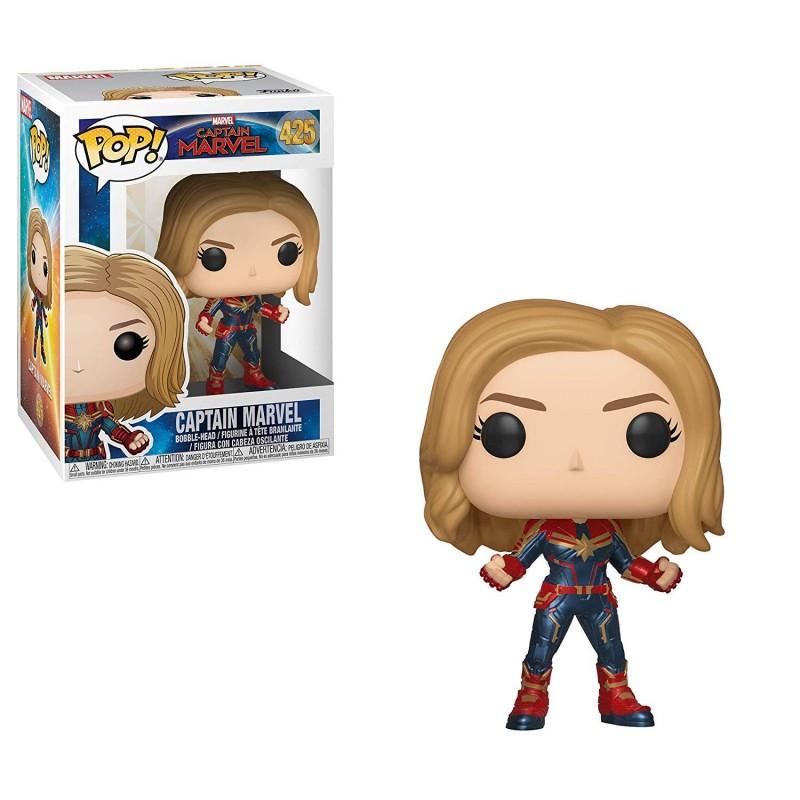 POP Marvel: Captain Marvel - POP 1 w/Chase