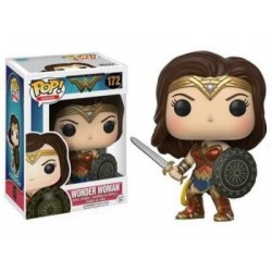 POP Heroes: DC - WW - POP 6 - Wonder Woman w/ Swor