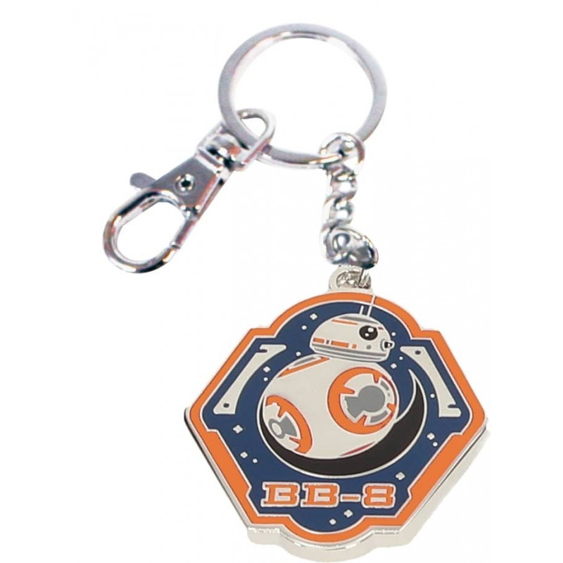 BB-8 BORDE NARANJA LLAVERO METAL STAR WARS EP7