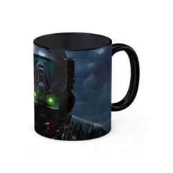 DEATH TROOPER TAZA NEGRA CERAMICA STAR WARS ROGUE ONE