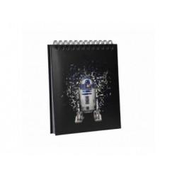 R2-D2 LIBRETA CON LUZ Y SONIDO STAR WARS EP4