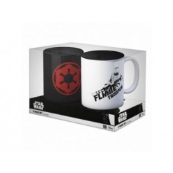 PACK OFERTA 9: SIMBOLO IMPERIO + FLAMETROOPER SET 2 TAZAS STAR WARS