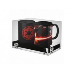 PACK OFERTA 10: SIMBOLO IMPERIO + KYLO Y TROOPERS SET 2 TAZAS STAR WARS