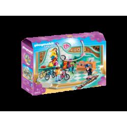 PLAYMOBIL-9402 - Tienda de Bicicletas y Skate