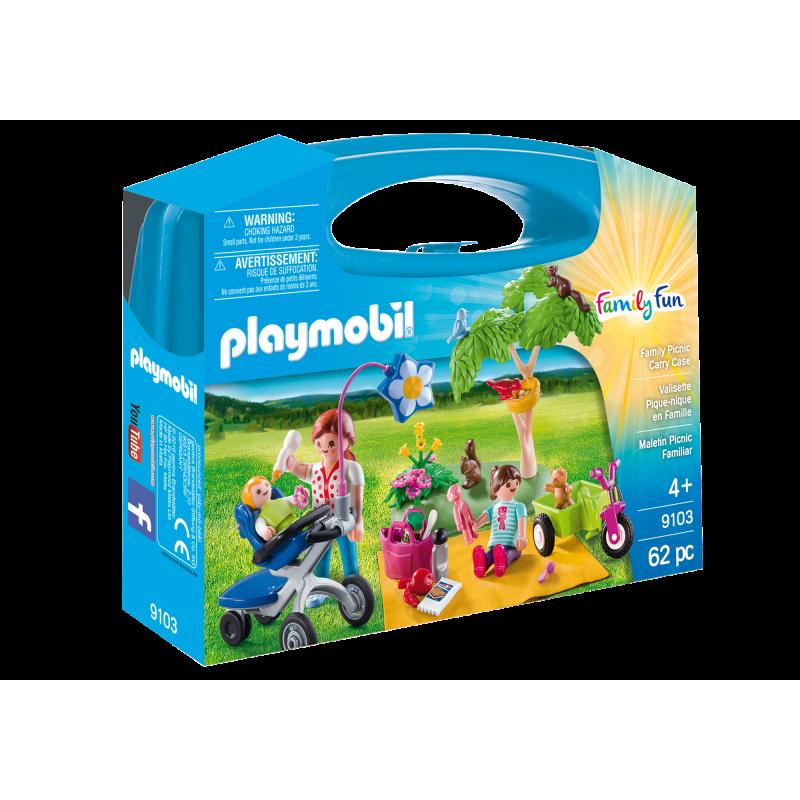 PLAYMOBIL-9103 - Maletín Grande Pícnic Familiar