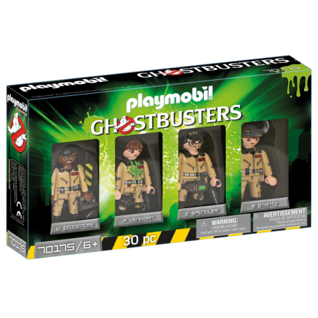 PLAYMOBIL-70175 - Ghostbusters™ Set de Figuras