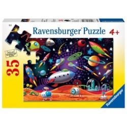 Puzzle 35 piezas: Space