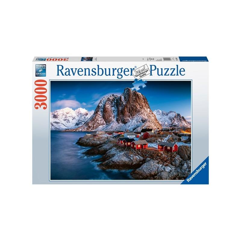 Puzzle 3000 Pz: Hamnoy