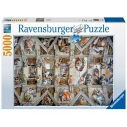 Puzzle 5000 Pz: La Capilla Sixtina