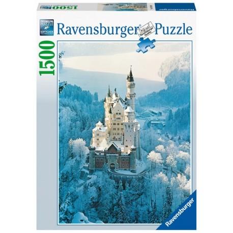 Puzzle 1500 Pz: Neuschwanstein En Invierno