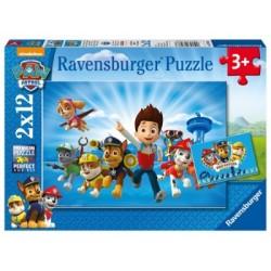 Puzzle 2 X 12 Pz: Paw Patrol A