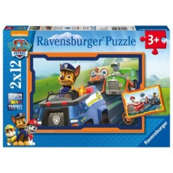 Puzzle 2 X 12 Pz: Paw Patrol B