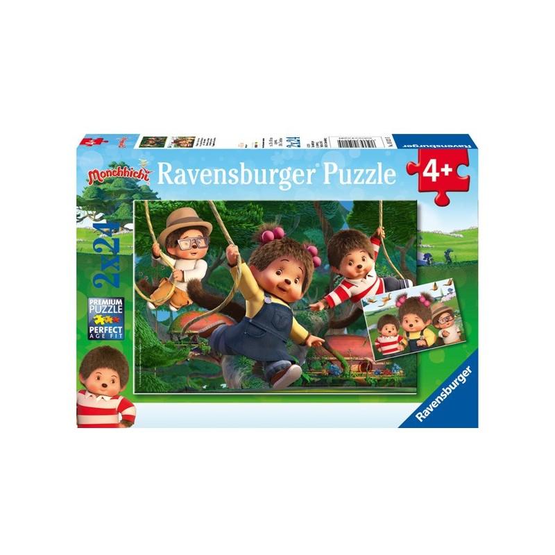 Puzzle 2 X 24 Pz: Monchhichi
