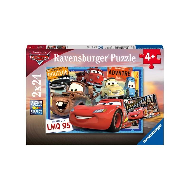 Puzzle 2 X 24 Pz: Cars