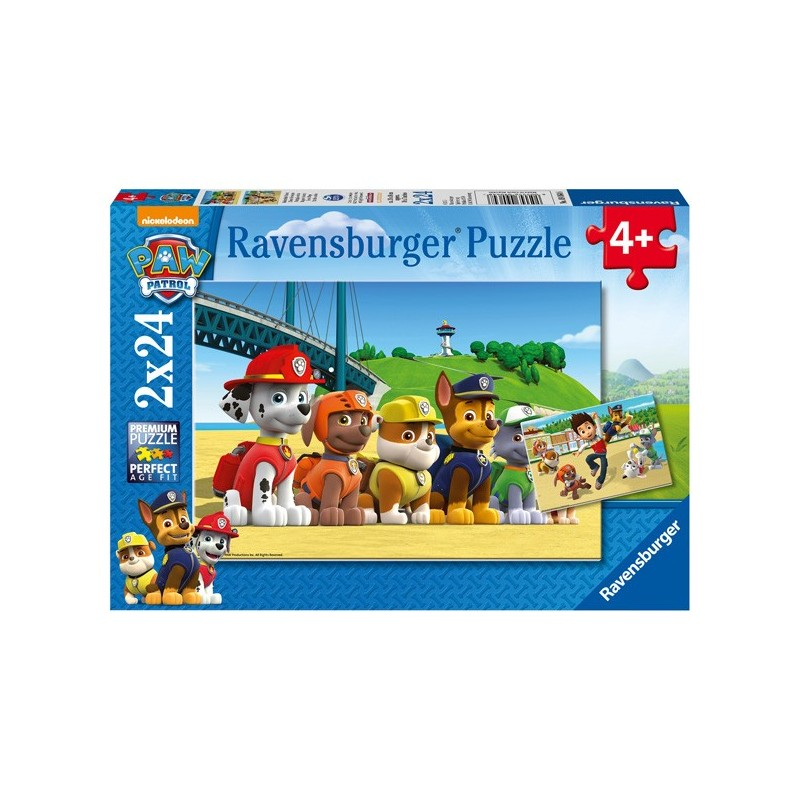 Puzzle 2 X 24 Pz: Paw Patrol A