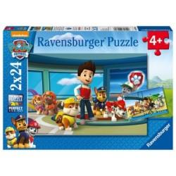 Puzzle 2 X 24 Pz: Paw Patrol B