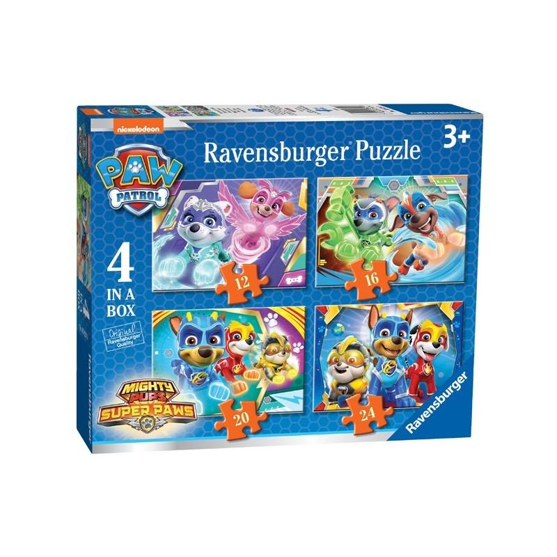 Puzzle 4 en 1: Paw Patrol