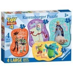 Puzzle 4 en 1: Toy story 4
