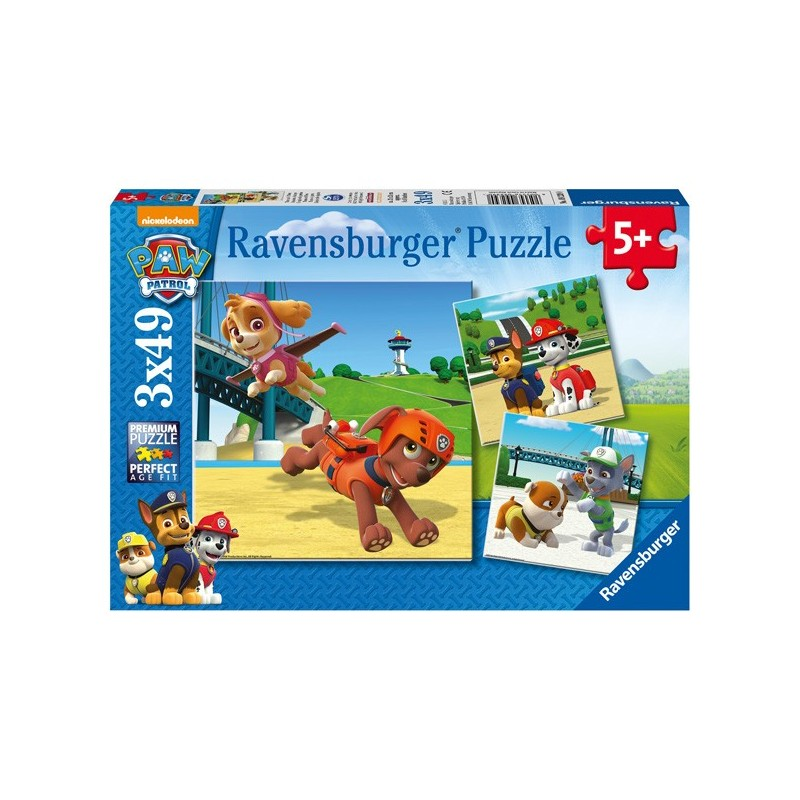 Puzzle 3 X 49 Pz: Paw Patrol B