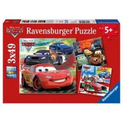 Puzzle 3 X 49 Pz: Cars 2