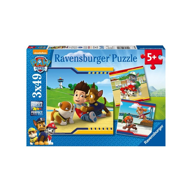 Puzzle 3 X 49 Pz: Paw Patrol C