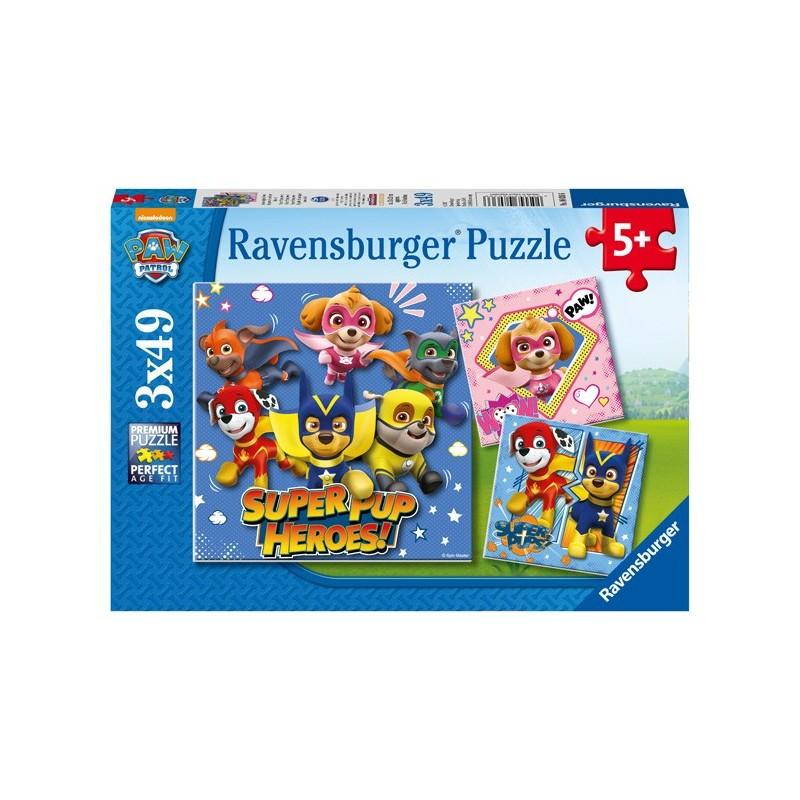 Puzzle 3 X 49 Pz: Paw Patrol D