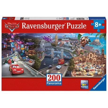 Puzzle 200 Pz XXL: Cars Panorama