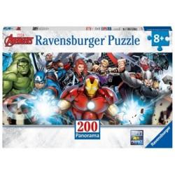 Puzzle 200 Pz XXL: Avengers Panorama