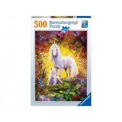 Puzzle 500 Pz: Unicornio y potrico
