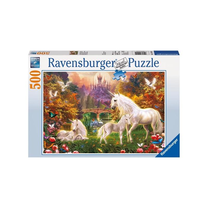 Puzzle 500 Pz: Unicornios A