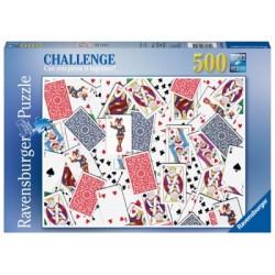 Puzzle 500 Pz: 52 Cartas