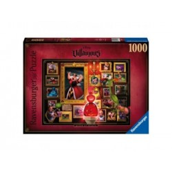 Puzzle 1000 Pz - Disney: Villainous: Reina de corazones