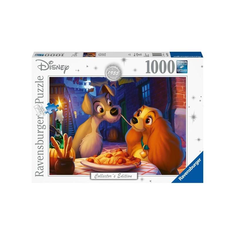 Puzzle 1000 Pz - Disney: Lilli e il vagabondo