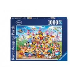 Puzzle 1000 Pz - Disney: Disney Carnaval