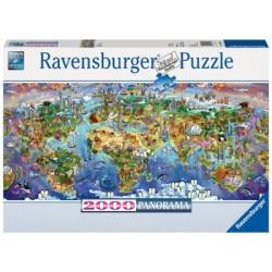 Puzzle 2000 Pz: Maravillas del mundo