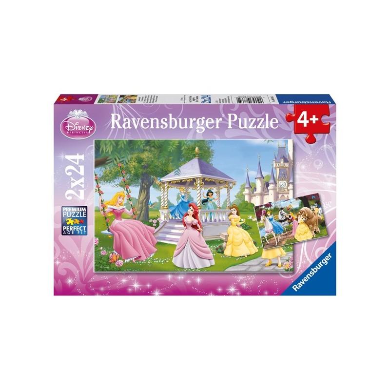 Puzzle 2 X 24 Pz: Princesas Disney